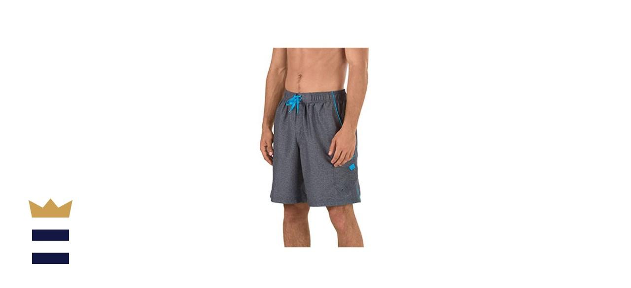 Speedo Men's Swim Trunk Knee Length Marina Volley