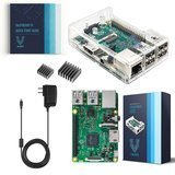 Vilros Raspberry Pi 3 Kit with Clear Case