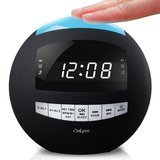 OnLyee Digital Dimmable Alarm Clock Radio