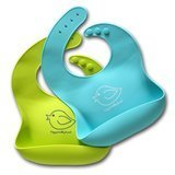 Happy Healthy Parent Waterproof Silicone Bib
