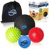 Invincible Fitness Massage Balls Set
