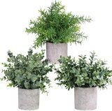 Winlyn Artificial Mini Potted Plants