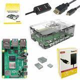 CanaKit Raspberry Pi 4 Basic Starter Kit with Official Case