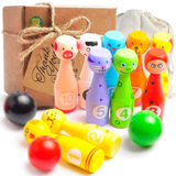aGreatLife Mini Bowling Game Set for Kids