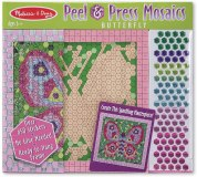 Melissa & Doug Peel and Press Mosaic Butterfly