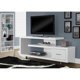 Monarch Specialities TV Stand with Drawer