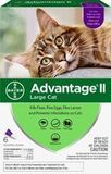 Advantage II Flea Treatment for Large Cats Over 9 lbs