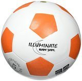 Kan-Jam ILLUMINATE Ultra-Bright LED Light-Up Glow Soccer Ball