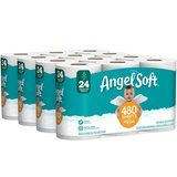 Angel Soft Toilet Paper, Mega Rolls, 24 Count