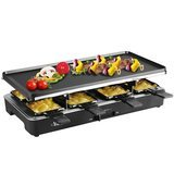 Artestia Electric Raclette Grill with 2 Full-Size Top Plates
