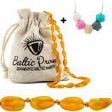 Baltic Proud Baltic Amber Teething Necklace For Babies Gift Set