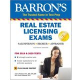 Barron's Real Estate Licensing Exams for 2019 & 2020 (11th Edition)