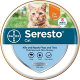 Bayer Seresto Flea and Tick Collar for Cats