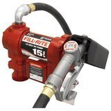 Fill-Rite 12V 15 GPM Fuel Transfer Pump with Discharge Hose