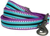 Blueberry Pet 3M Reflective Striped Dog Leash