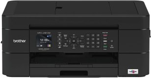 Brother Wireless All-in-One Inkjet Printer, MFC-J491DW