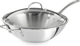 Calphalon Triply Stainless Steel Wok