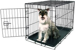 Carlson Pet Products Single Door Metal Dog Crate
