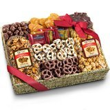 Golden State Fruit Chocolate, Caramel and Crunch Grand Gift Basket