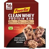 PowerBar Clean Whey Protein Bar, Chocolate Chip Cookie Dough