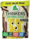 Plato Pet Treats Thinkers Natural Duck, 22 oz. Value Pack