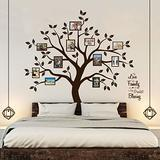 Timber Artbox Family Tree Wall Decal with Quote