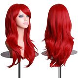 EmaxDesign Wavy Curly Cosplay Wig