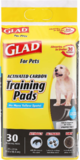 Glad for Pets Charcoal Puppy Pads