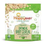 Happy Baby Organic Clearly Crafted Whole Grain Oatmeal
