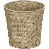 Household Essentials Woven Seagrass Wicker Wastebasket