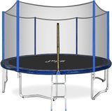Jupa Outdoor Trampoline with Enclosure