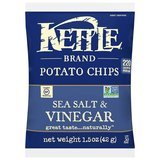 Kettle Brand Sea Salt and Vinegar Potato Chips, Single-Serve