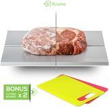 Kusine Premium Defrost Tray & Thawing Plate