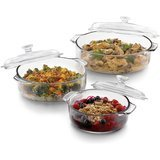 Libbey 6-Piece Glass Casserole Set