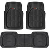 MotorTrend Heavy Duty All-Weather Maximum Protection Car Floor Mat