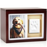 Pearhead Dog Or Cat Paw Prints Pet Memory Box