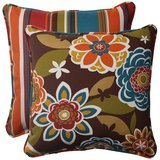 Pillow Perfect Indoor/Outdoor Annie Westport Reversible Throw Pillows (Set of 2)
