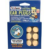 Putty Buddies 3-Pack Soft Silicone Floating Earplugs