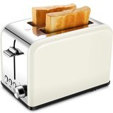 KEEMO Wide Slot Stainless Steel Kitchen Toaster