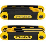 Stanley Folding Metric and Sae Hex Keys- 2-Pack