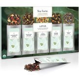 Tea Forté Lotus Loose Leaf Tea Sampler, 15 Loose Leaf Pouches